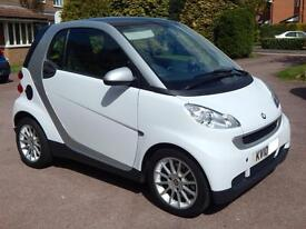 Smart fortwo 1.0 84bhp Passion, 2 Seater, AUTOMATIC, White, 42K Miles, Leather!