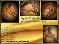 Affordable Equine Portraits