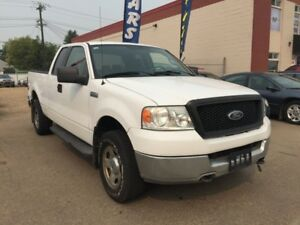 2005 Ford F-150 6 Months powertrain warranty included.