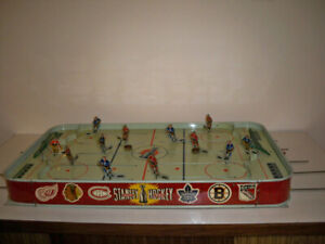 Stanley Cup Hockey PRO*table-top game*50's*rare project