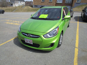 ****2013 Hyundai Accent GLS Hatchback Loaded V low Ks