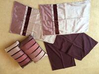 Next double bet set *15 items* Purple. Bedding bundle.