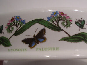 Portmeirion BOTANIC GARDEN Forget-me-not Oval Soap Dish Kawartha Lakes Peterborough Area image 3