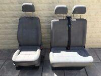 VW T5 Transporter front seats