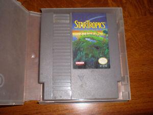 Original Nintendo Game STAR TROPICS... RARE Kitchener / Waterloo Kitchener Area image 1