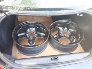 17 once rims no tires