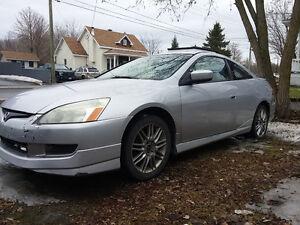 2003 Honda Accord Coupé V6 prix négociable