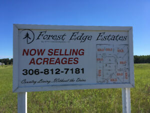 Acreages for sale