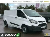 2017 Ford Transit Custom 290 2.0TDCi 105PS LWB L2 EU6 Panel Van Diesel Manual