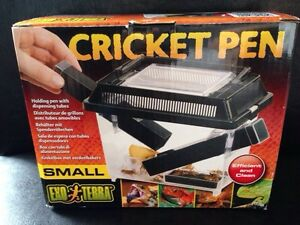 Exo Terra small cricket pen with dispensing tubes Brand New