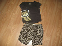 Joe size 2-3 shorts set (adjustable waist)