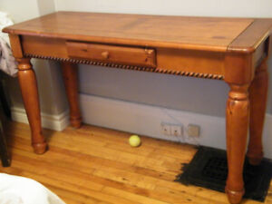 Sofa table for sale.