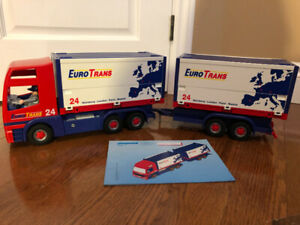 Playmobil Truck with Trailer