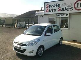 2012 HYUNDAI I10 ACTIVE 1.2L ONLY 49730 MILES, £20 A YEAR TAX, FULL SERVICE HIST