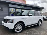 2011 61 Land Rover Range Rover 4.4TDV8 auto Vogue **White - Full LR Service**