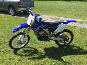 Clean dirt bike!