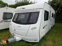 2012 6 berth bunk beds Lunar Lexon 570 caravan for sale