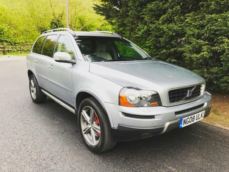 2008 volvo xc90 2 4 d5 se sport 7 seater turbo diesel 6 speed manual 4x4 in hockley essex. Black Bedroom Furniture Sets. Home Design Ideas