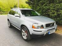 2008 VOLVO XC90 2.4 D5 SE SPORT 7 SEATER TURBO DIESEL 6 SPEED MANUAL 4X4