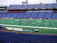 Buffalo Bills Individual Game Tickets - 35 yard line!!