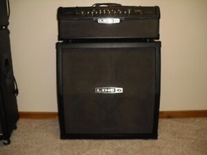 Line 6 Guitar amp. Head and Cabinet