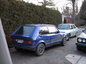 1984 Volkswagen Rabbit Hatchback