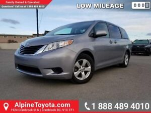 2011 Toyota Sienna LE  Low Kms