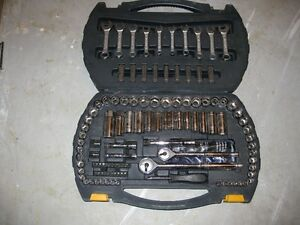 Matercraft Socket and Wrench Set