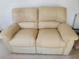 FREE - 2 x TWO-SEATER RECLINER SOFAS