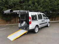 2010 Fiat Doblo 1.4 8v Dynamic Wheelchair Accessible Vehicle.