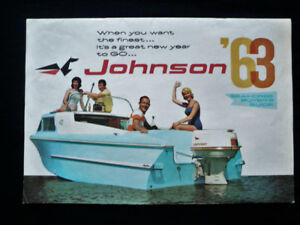 1963 Johnson Outboard Sales Brochure