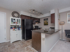 2 bed/2 bath condo Rutherford, built 2011, underground parking