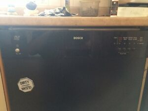 Bosch Built-In Dishwasher.   Stainless Steel Drum