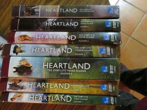 Heartland Videos Seasons 1,2,3,4,5,6,7 & A Heartland Christmas