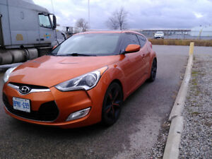 2012 Hyundai Veloster Tech Coupe (2 door)