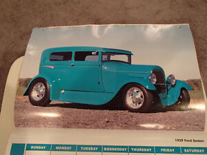 2000 DREAM MACHINES Car 16 Month CALENDAR. Issued by HUCK Fasten Sarnia Sarnia Area image 8