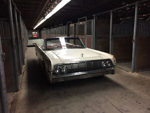 BARN FIND - 1963 Lincoln Continental convertible w suicide doors