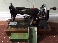 Singer sewing machine. 1930s. Model No. 99.