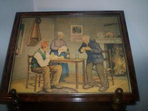 Vielle pub de Biere frontenac 1929 Original