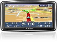 "Tomtom xxl 5"" inch screen full maps plus accessories"