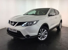 2014 NISSAN QASHQAI ACENTA PREMIUM DCI 1 OWNER SERVICE HISTORY FINANCE PX