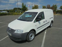 2008 08 VW VOLKSWAGEN CADDY MAXI 1.9TDI 104PS VAN IN WHITE