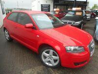 Audi A3 TDI SE (brilliant red) 2007