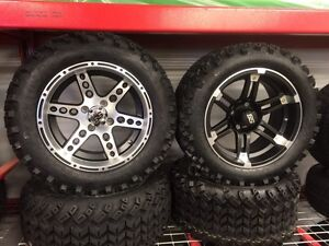 "Golf Cart Tires & RIM's, Alloy Rims for sale! 10-14"" Kitchener / Waterloo Kitchener Area image 2"
