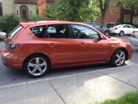 Mazda3 2005 2.3L Auto - Fully Loaded! Sunroof, Electric pack, AC