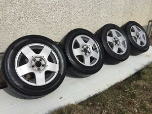 WOW RIMS and TIRES!!!! 4 VW Jetta rims w/tires ONLY $250