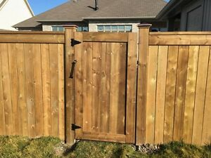 Db fence and deck