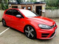 2015 VOLKSWAGEN GOLF R DSG 2.0 TSI ( 300ps ) 4X4 ( BMT ) ( S/S ) IN RED