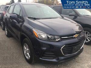"2018 Chevrolet Trax LS  REAR VISION CAMERA, 7"" COLOR AUDIO SCREE"