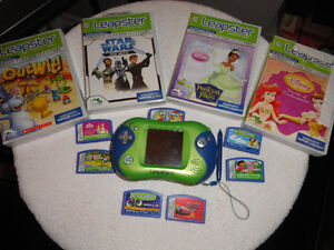 Leap Frog-Leapster2 Console with 9 Games
